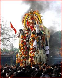 Aravaan's Final procession