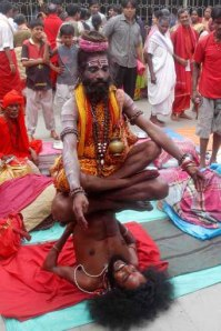 Sadhus at the Mela