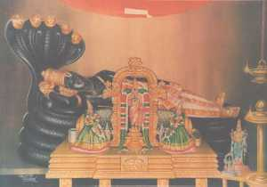 Ranganathar, with the two Utsavars