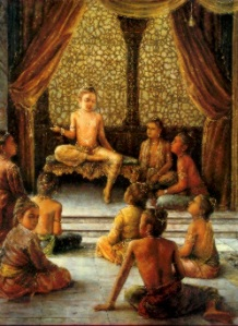 The glory of HariNama, Prahalada teaches the asura kids