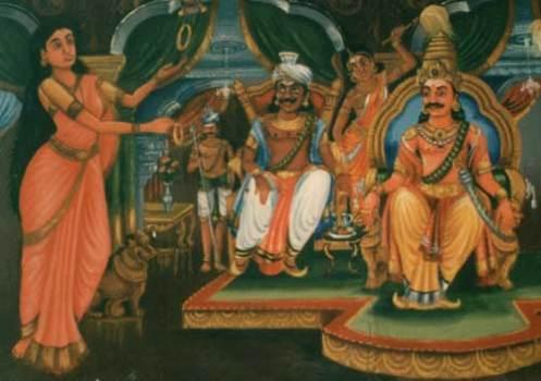 Kannagi at Pandian Court
