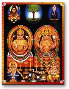 Bhagavathi and Badrakali