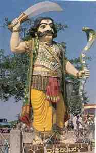 Mahisha's Statue on Chamundi Hills