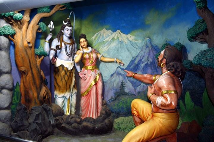 Shiva mahakali and Ravana